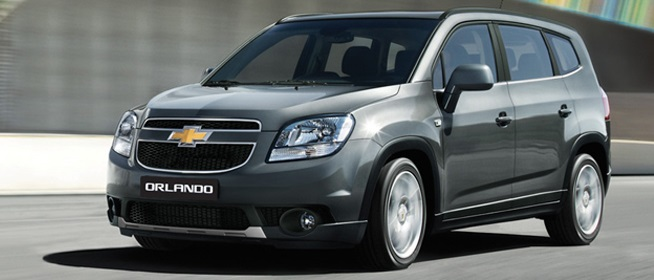 Harga Mobil Chevrolet Orlando