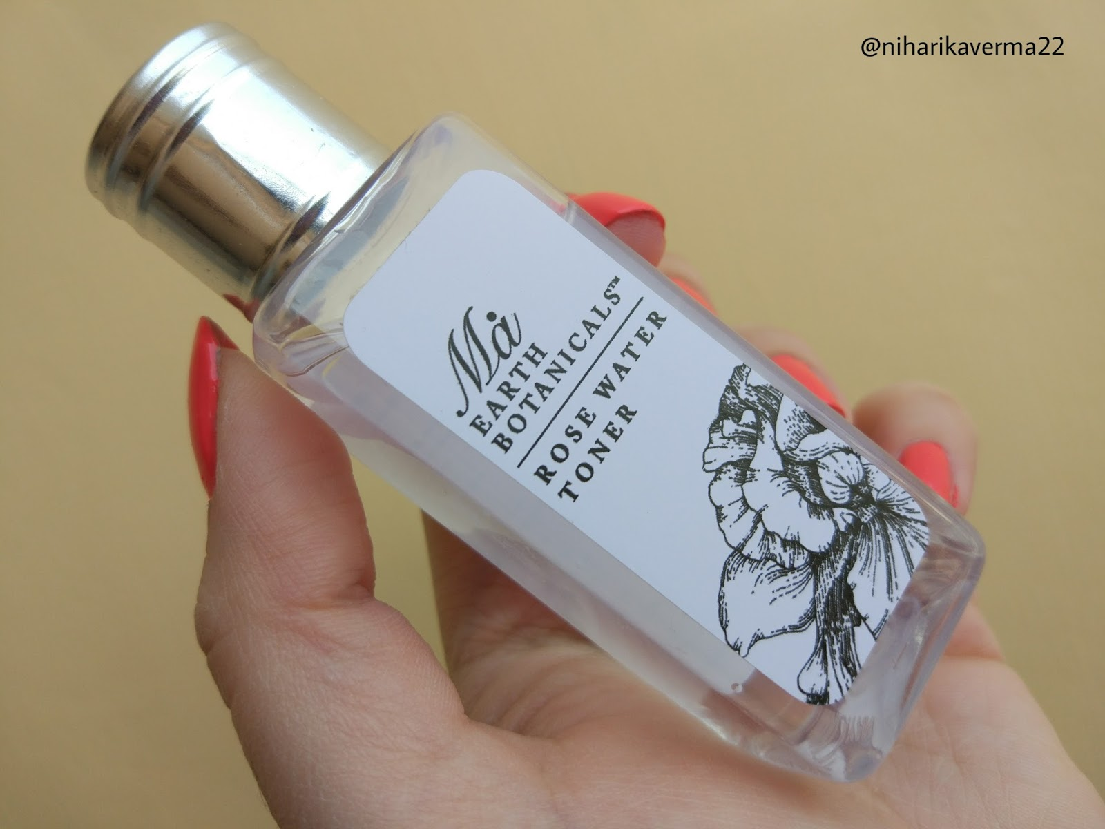The Pink Velvet Blog - Ma Earth Botanicals Rose Water Toner - MSM
