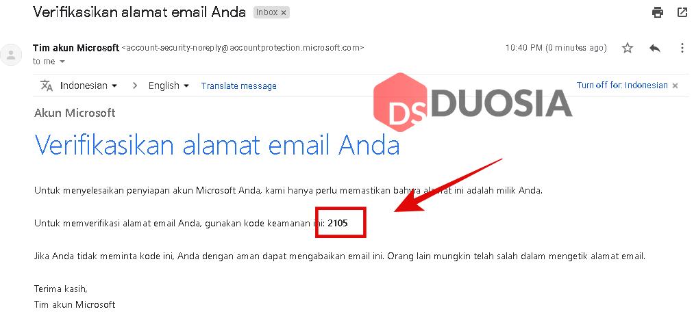 daftar akun microsoft dengan gmail