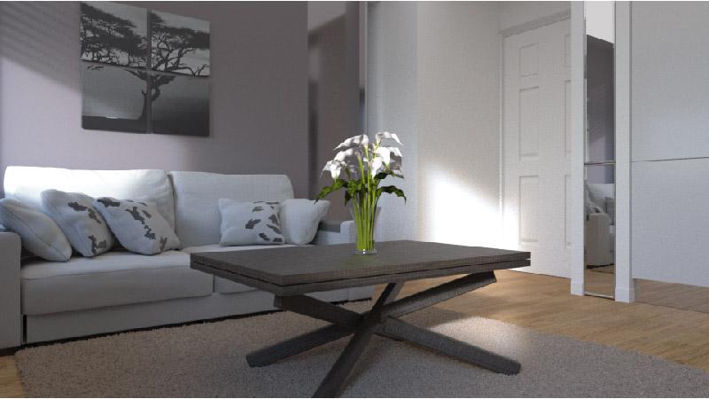 Arredamento bilocale moderno yc28 regardsdefemmes for Arredare piccolo appartamento