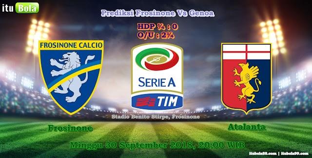 Prediksi Frosinone Vs Genoa - ituBola