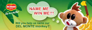 Win A Year of Bananas By Helping DelMonte Name Their Monkey