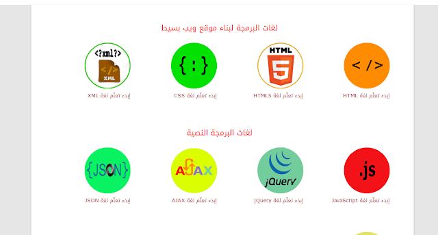 أفضل المواقع العربية لتعلم لغات البرمجة بأنواعها مجانا
