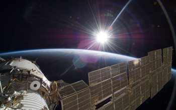 Wallpaper: NASA images that could have inspired Gravity