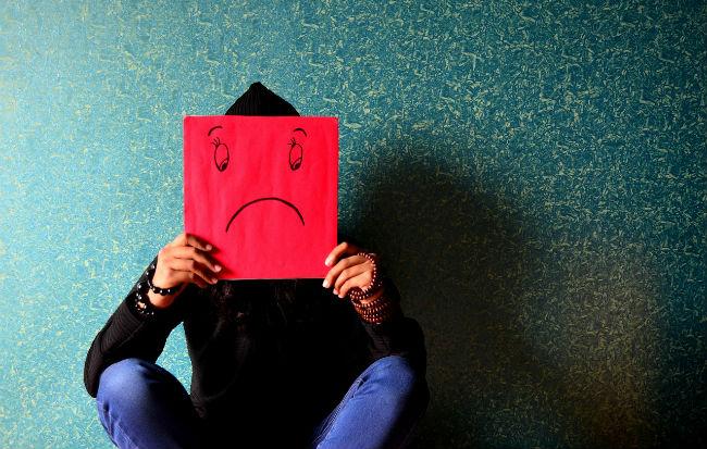 Tristezza, abbattimento e infelicità
