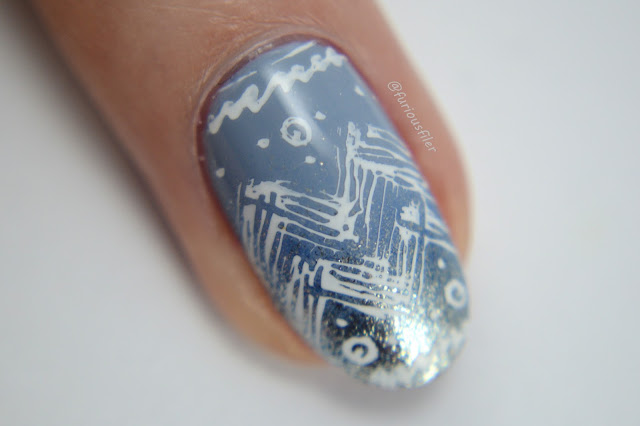 macro metallic gradient sweater nails cirque idyllic storm king