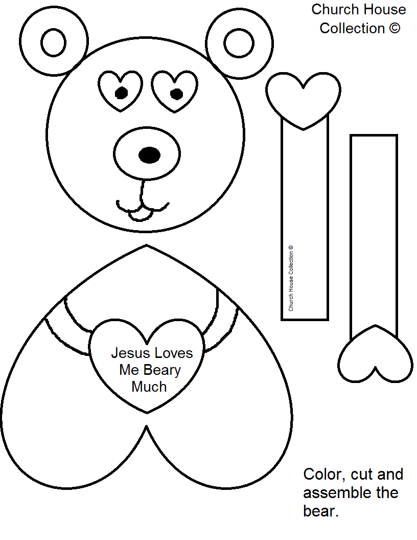 jesus valentine coloring pages - photo#25
