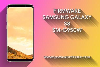 FIRMWARE SAMSUNG G950W