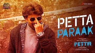 பேட்ட பராக் Petta Paraak Song Lyrics Tamil