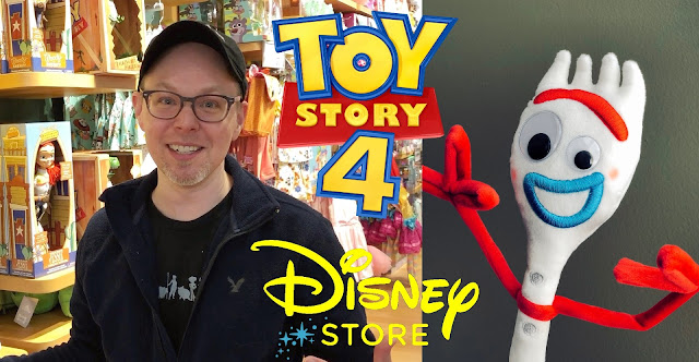 Toy Story 4 Disney Store Toy Hunt