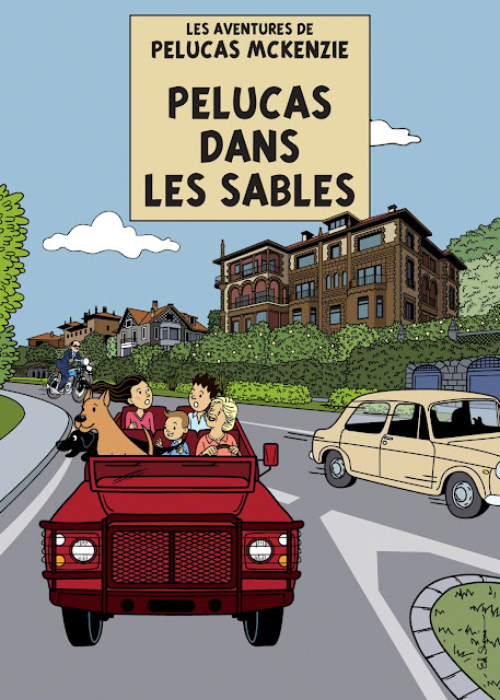 Tintin Car Chase Book Cover