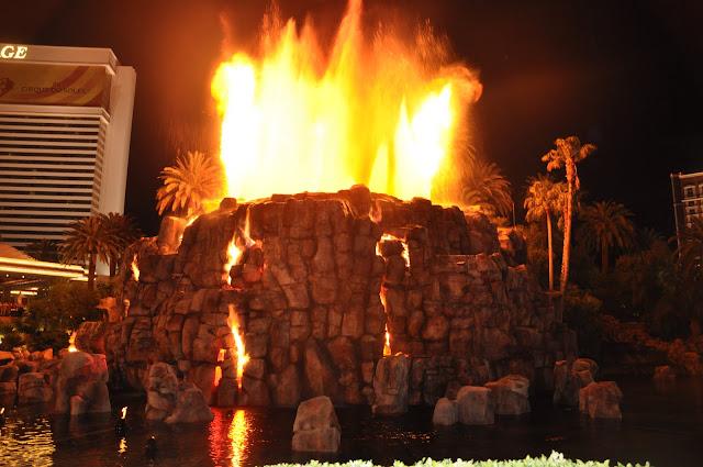 Vulcão Las Vegas