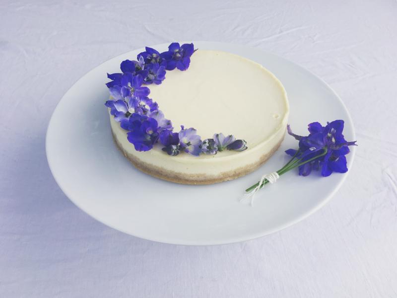 Citrónový cheesecake s bergamotem
