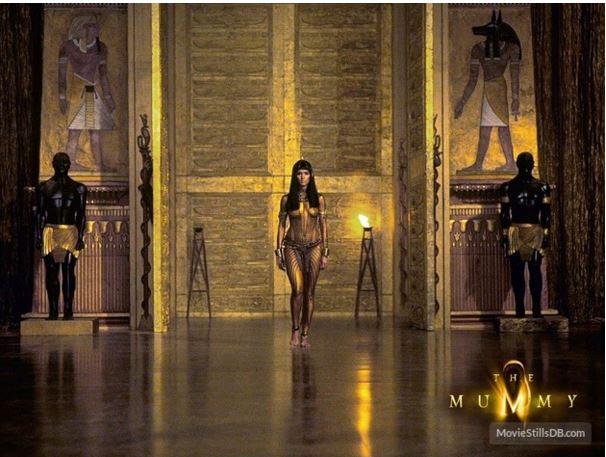 A mumia, cena do filme