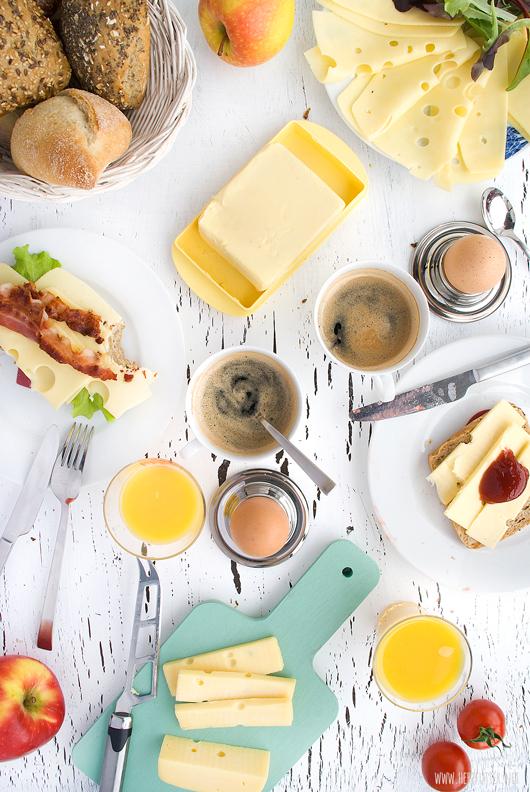 Leerdammer #wirkäsebroten Kampagne Käse am Morgen