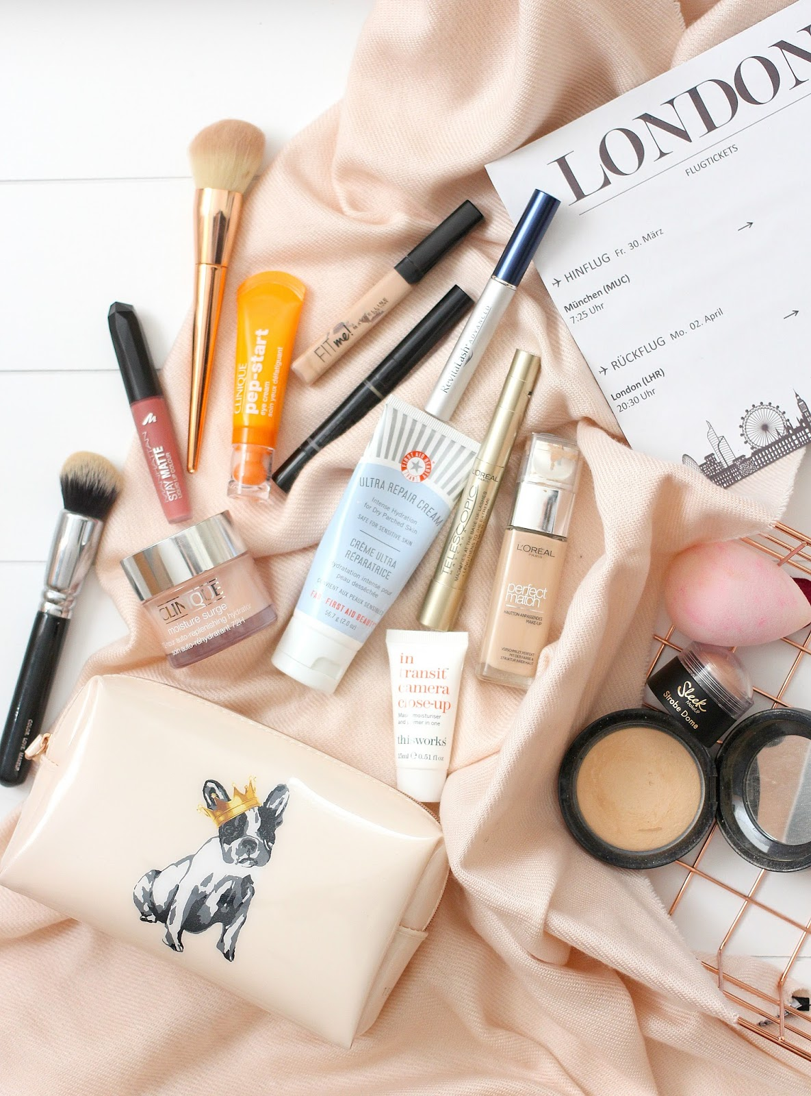 City Break Makeup & Skincare Bag