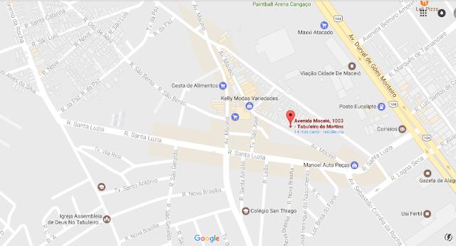 mapar- residencial jardins-Av. Maceió, 1003 - Tabuleiro do Martins, Maceió - AL, CEP: 57061-110,