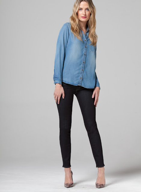 Parker Smith Women's Denim Shirt