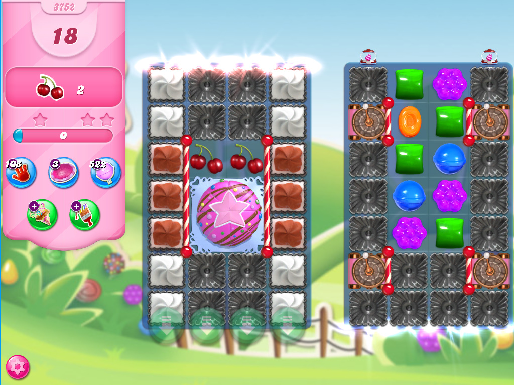 Candy Crush Saga level 3752