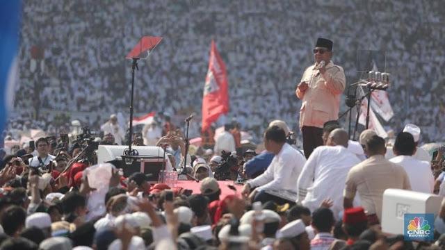 Prabowo: Negara Sedang Sakit, Ibu Pertiwi Sedang Diperk0sa!