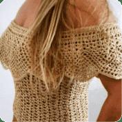 Linda blusa tejida