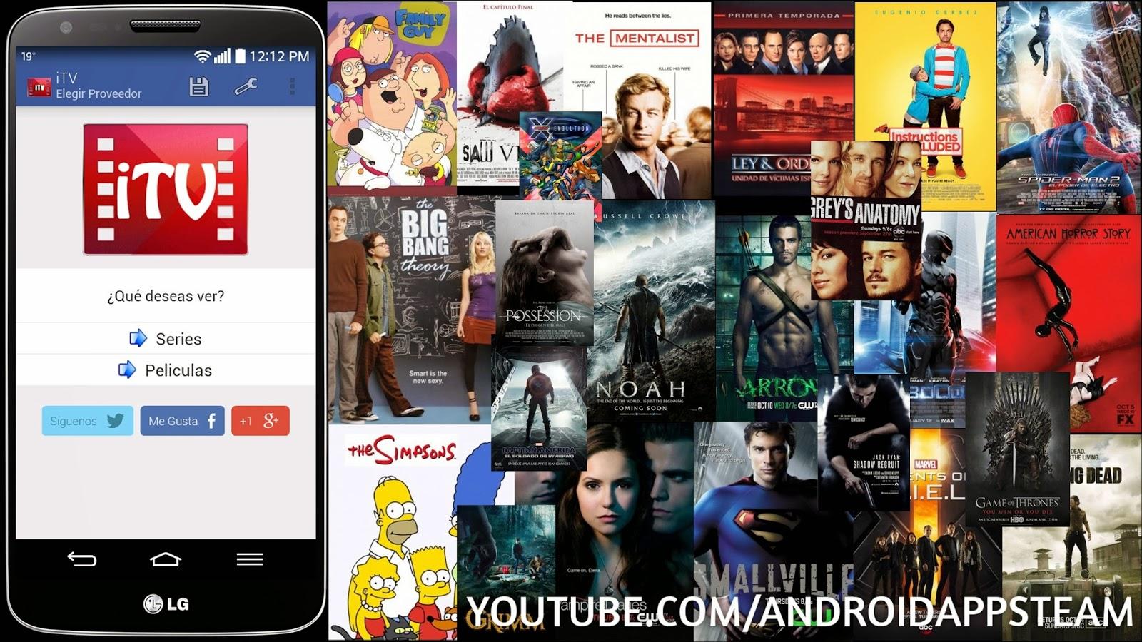 Aplicaciones Android: iTV (Peliculas y Series) v1 3 [APK]