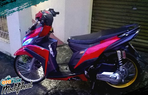 Modifikasi Motor Modifikasi Motor Yamaha Mio M3