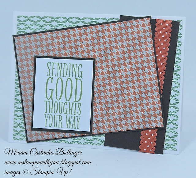 Miriam Castanho Bollinger, #mstampinwithyou, stampin up, demostrator, sc, get well, perfect pennants, sweater weather, su