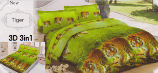 Sprei Lady Rose Tiger