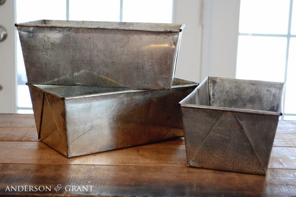 Thrift Store Transformation 2 Repurposed Loaf Pans