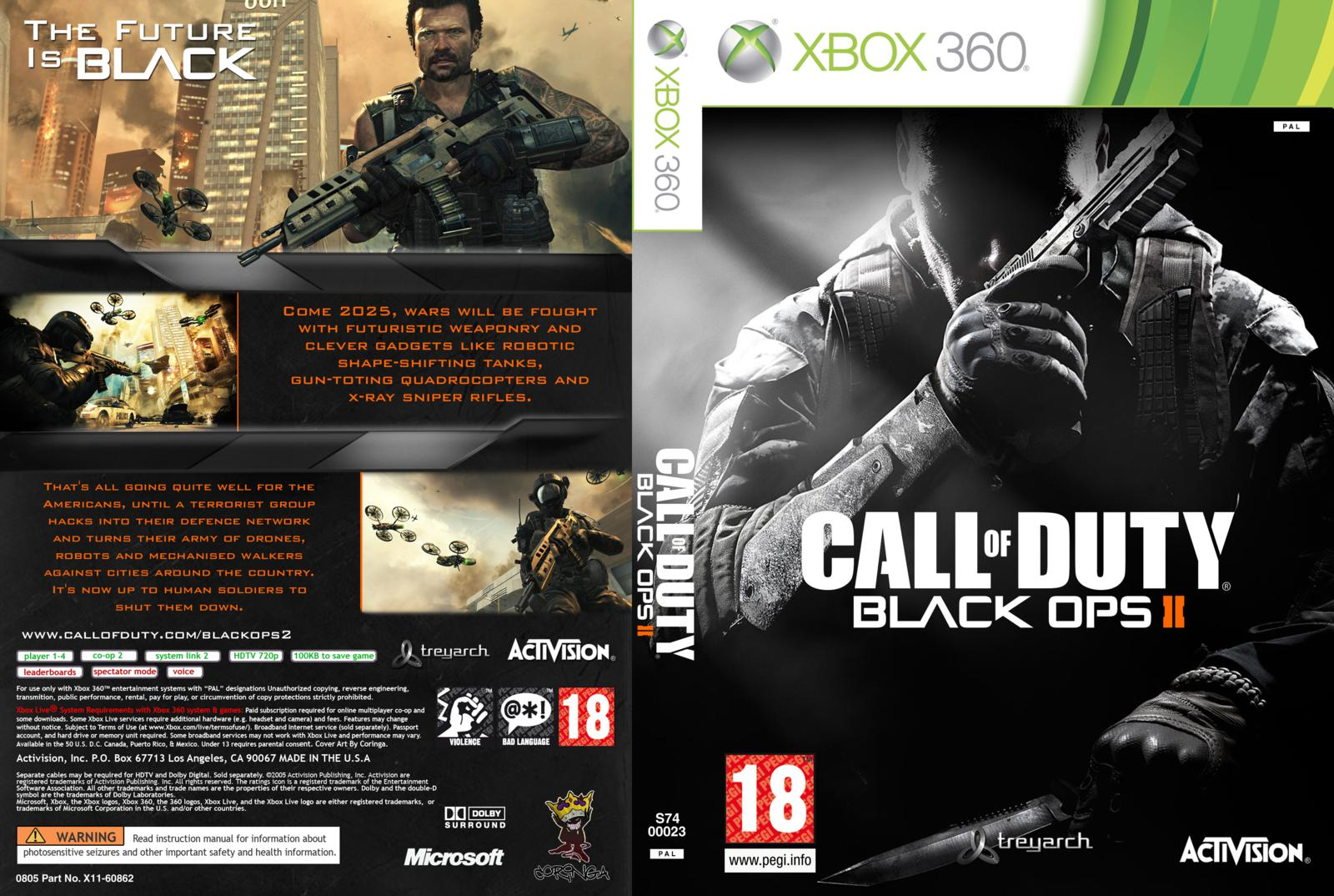 Hard Gamess Call Of Duty Black Ops 2 Xbox 360