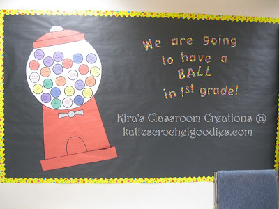we are going to have a ball bulletin board