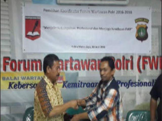 Ketua Forum Wartawan Polri yang Baru, Naek Pangaribuan