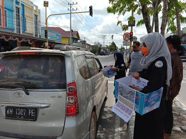 Relawan Bersatu Galang Dana Untuk Warga Lombok