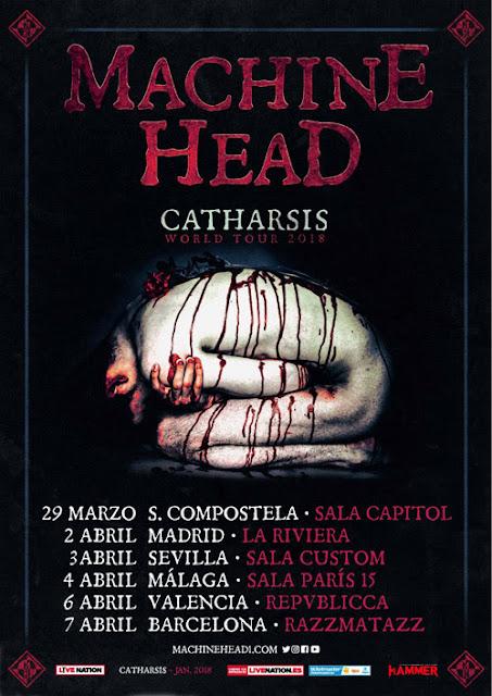 Machine Head en España