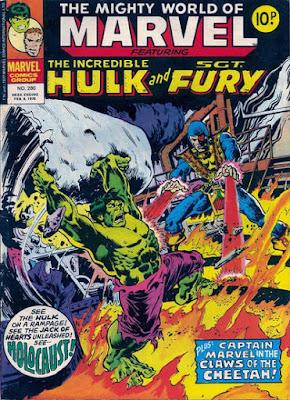 Mighty World of Marvel #280, Hulk vs Jack of Hearts