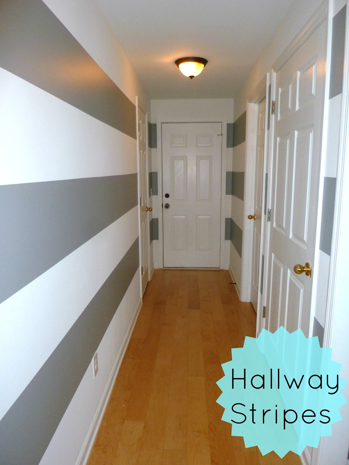 Wall Painting Designs For Hall Feathers And Sunshine Striped Hallway Part 1