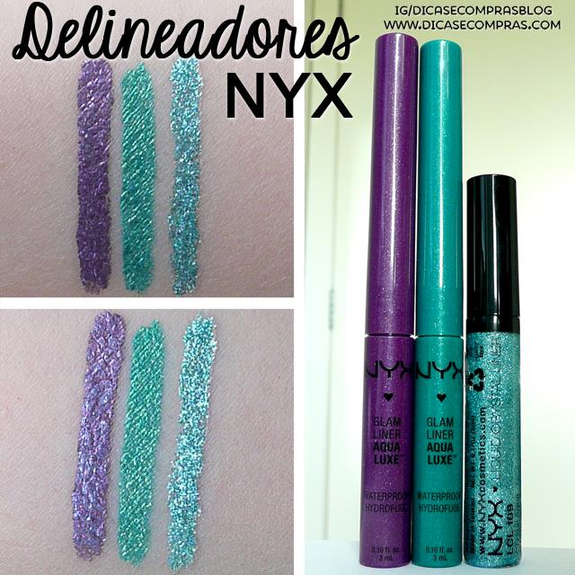 glam liner aqua lux, liquid crystal liner, purple, lagoon, crystal aqua