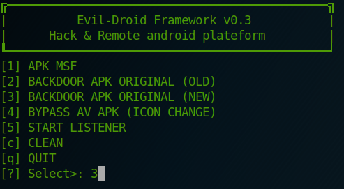 Android Mobile Exploitation with Evil-Droid