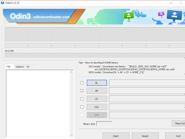 Cara Menggunakan Odin 3 Samsung Downloader