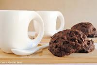 Galletas de chocolate con pepitas de chocolate de Nigella Lawson