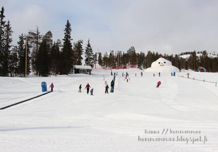 ruka laskettelu pääsiäinen 2017 lastenmaa