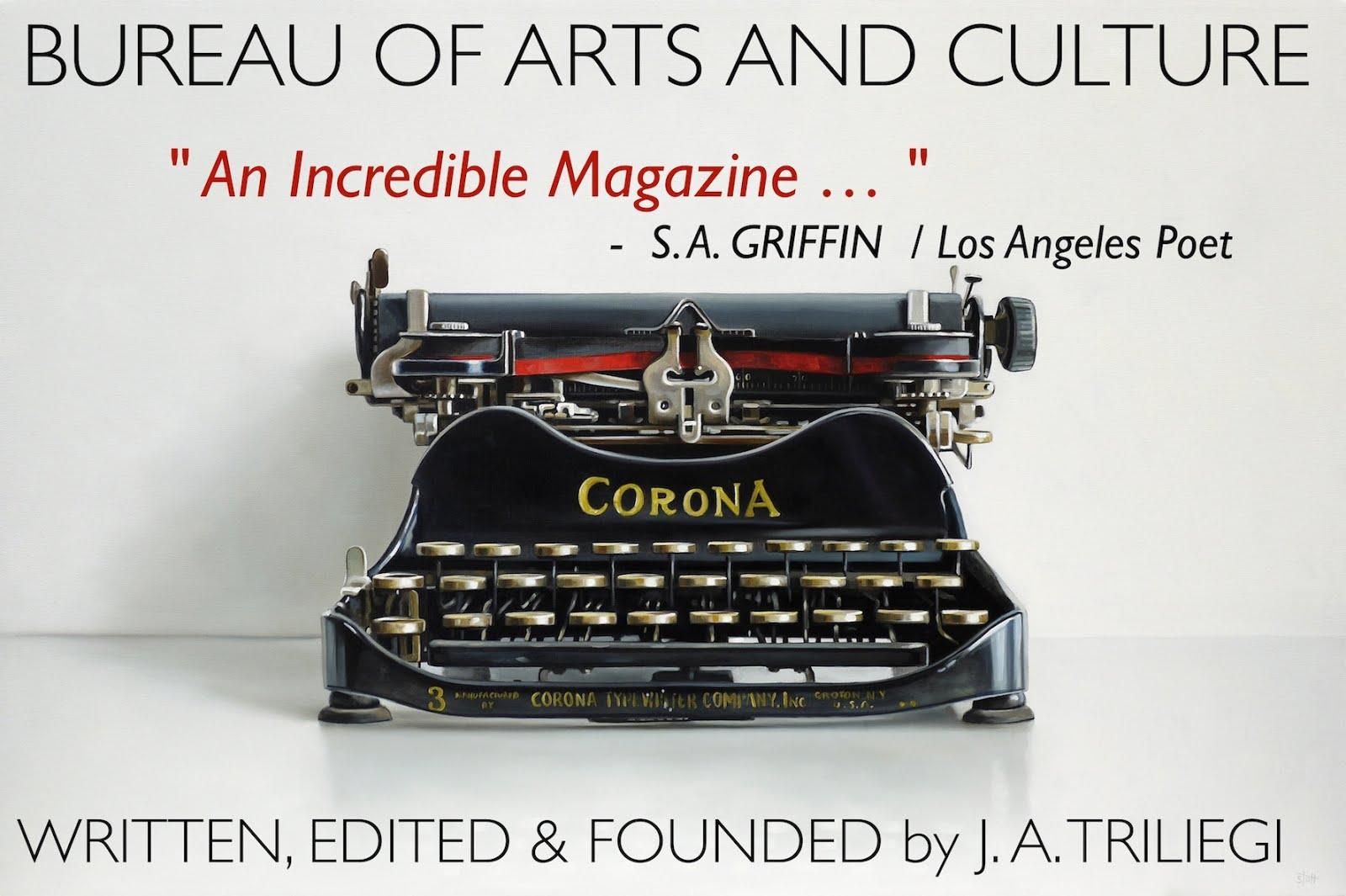 BUREAU of ARTS and CULTURE MAGAZINE: LOS ANGELES: FICTION