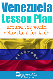 Building the perfect Venezuela lesson plan for your students? Are you doing an around-the-world unit in your K-12 social studies classroom? Try these free and fun Venezuela activities, crafts, books, and free printables for teachers and educators! #Venezuela #lessonplan