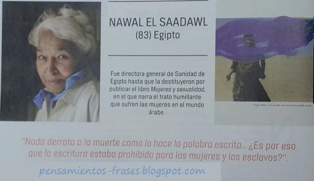 frases de Nawal al-Sa'dawi