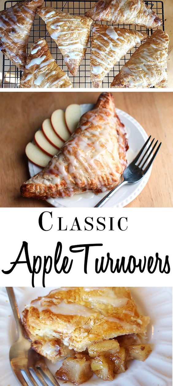 Apple Turnovers #dessert #apple #turnovers
