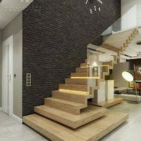 Escaleras maravillosas para locales profesionales