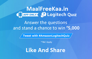 Logitech Contest Win Rs 5000