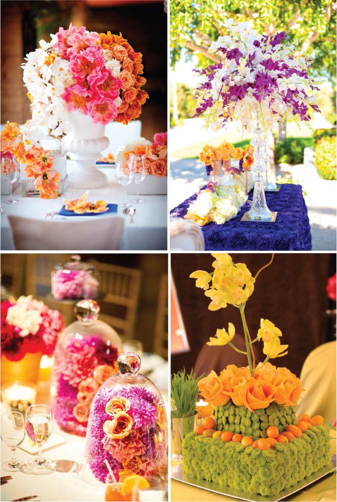 25 Stunning Wedding Centerpieces  Part 6  Belle The Magazine