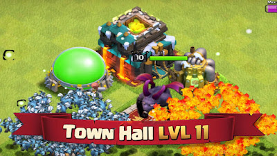 Clash Of Clans MOD APK 2018 COC Versi 9.434.30 Unlimited Gold Elixir Gems Terbaru 2018